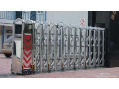 上海鋁型材卷簾門 電動抗風門 不銹鋼/鋁合金伸縮門定做安裝