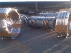 重慶高溫軸向型波紋補償器尺寸標準廠家膨脹節規格圖紙定制