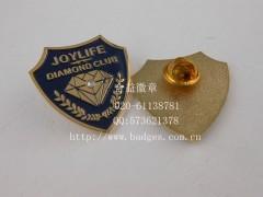 鉆石徽章、鑲鉆徽章、公司標致徽章、高檔襟章