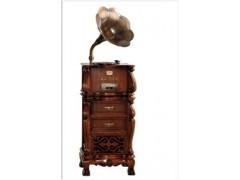 鍠蔓斯凯留声机,采用泰国进口橡胶木,纯手工雕刻打磨