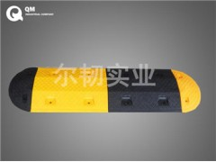 橡膠減速帶 小區路口安裝橡膠減速帶 QM品牌