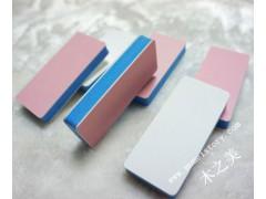美甲工具 方塊拋光塊 修甲文玩打磨兩面拋光塊