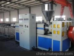 莱芜金冠塑机现货供应超高分子量聚乙烯耐磨塑料管材挤出机