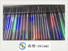 12v50cm3528LED流星燈單色五色LED流星燈廠家
