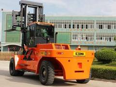 华南重工机械制造提供质量良好的新款矿山叉车_广西石材叉装车