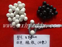 耐磨耐用的橡膠球  機械配件橡膠球