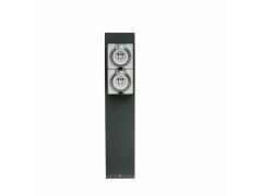 指印户外水电柱ZD16201 防暴雨水电柱 码头岸电箱