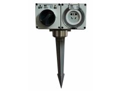 指印防水插座柱ZDJ1/ZA56E202 地插式防水插座柱