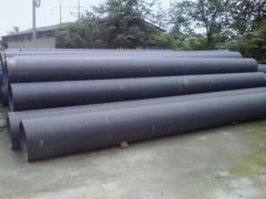 供應青島HDPE雙平壁鋼復合纏繞排水管