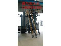 餐飲業專用小型800單段煤氣發生爐設備生產廠家