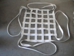 吊装网兜,尼龙吊网,钢丝绳网兜,扁带吊兜