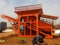 泥沙篩分設備采砂廠篩沙機歡迎訂購