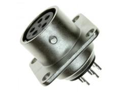 北京广濑连接 圆形插头RM12BRB-5S镀银5孔