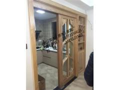 长沙原木家具定制款式多样、全屋整木原木电视柜、橱柜定制品牌