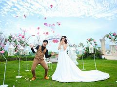 专业的时尚芭莎婚纱照推荐 价格合理的婚纱摄影