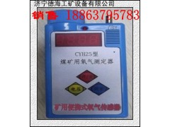 現貨銷售濟寧德海CYH25礦用氧氣測定器