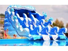 厂家直销定做充气泳池,水上乐园设施,水上游乐设备
