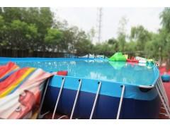 鄭州浪鯨支架池pvc支架游泳池