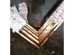 不锈钢收边条 不锈钢工程U型槽 玫瑰金装饰线条