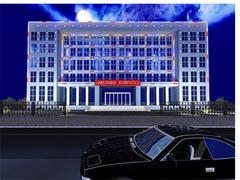 想要優質的樓宇亮化就找宏錦建筑裝飾工程:專業的樓宇亮化