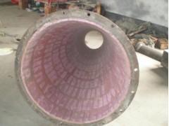 陶瓷耐磨管道、烧结厂物料的输送专用陶瓷耐磨管道