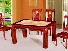 泉州大理石餐桌 福建销量好的火锅桌椅生产厂家