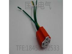 40A汽车继电器通用插座/喇叭大灯座/陶瓷继电器插座