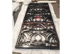 工程裝飾不銹鋼屏風  拉絲黑鈦屏風