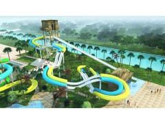 水上滑梯大型盤旋滑梯水上樂園設備