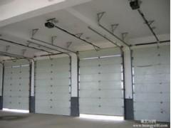 上海防火卷簾門安裝 電動翻板車庫門 工業提升門定做