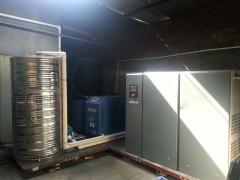 河源空压机热水工程 一流的空压机余热回收热水工程就选泉鑫节能