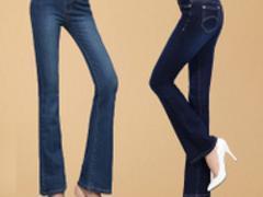 烟台市价格优惠的裤子批发 烟台微喇女裤批发