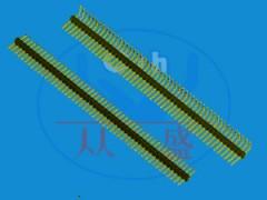 54立贴单排针 专业54立贴单排针厂家