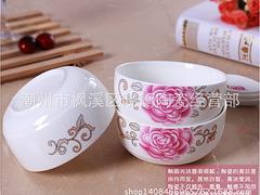 晓衡陶瓷镁质瓷餐碗勺_价格合理的镁质瓷餐碗勺,陶瓷礼品供应厂家