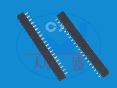 1.0双排排针|专业1.0双排排针厂家