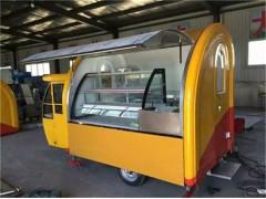 專定制玻璃鋼餐車廠家  品質保障   餐車的價格