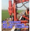 汕尾公路工程用液压打桩机 护栏打桩机 打桩钻孔拔桩一体机