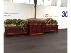 振興木塑花箱  阻燃景觀花箱 花箱廊架  生態木花盆生產廠家