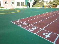 山东幼儿园塑胶跑道 塑胶场地 EPDM塑胶地面