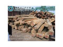 缅甸红酸枝/花梨木/红木在哪个港口进口较好费用怎样