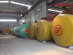 山東振通金屬容器制造有限公司油罐、加油站儲油罐