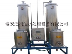 固原全自動軟化水設備的安裝要點