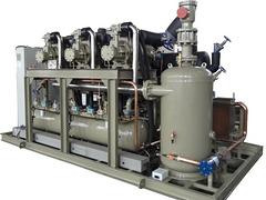 蘭州高品質復盛80P三并聯螺桿機組批售_平涼制冷安裝工程