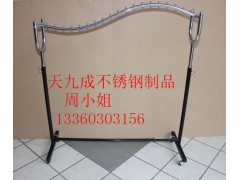 供应深圳不锈钢展示架  服装不锈钢展示架专业定制
