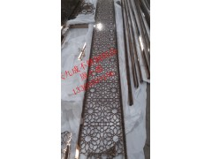 供应欧式时尚不锈钢屏风  长沙会所不锈钢镂空屏风定制厂家