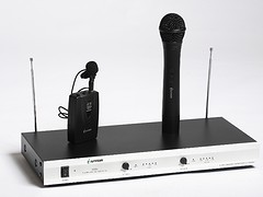 購買熱門V段一拖二無線話筒優選林橋電子   |V330代理商