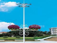 信譽好的燈桿吊盆供應商就在濰坊:節能花盆生產