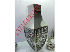 供應山東濟南不銹鋼花瓶  家居裝飾藝術不銹鋼花瓶專業廠家