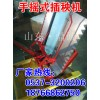 手摇式插秧机 人力步退式水稻种植机械 快速两行插秧机