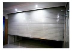 金山區防火卷簾門定做安裝 自動伸縮門 遙控型材門安裝